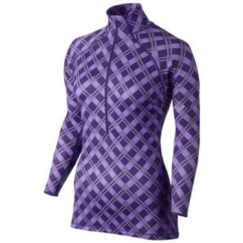 Nike Pro Hyperwarm Half-Zip II Print - Women's at Lady Foot Locker