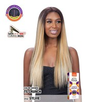 MODEL MODEL FLAT LAID DEEP AND WIDE  LACE FRONT WIG - SYLVIE