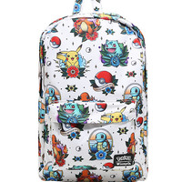 Loungefly Pokemon Starters Tattoo Flash Backpack