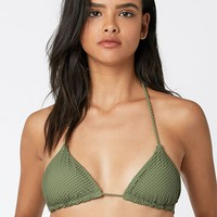 Billabong Meshin With You Triangle Bikini Top at PacSun.com