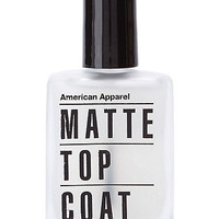 Matte Top Coat Nail Polish