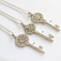 Exquisite fashion key sweater chain  ,  a perfect gift !