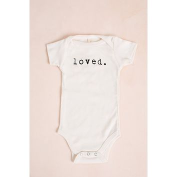 Loved Organic Baby Bodysuit
