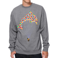 Odd Future Jasper Balloon Charcoal Crew Neck Sweatshirt at Zumiez : PDP