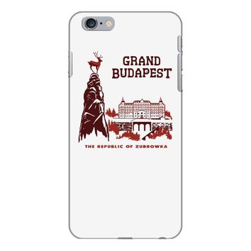 grand budapest hotel iPhone 6 Plus/6s Plus Case