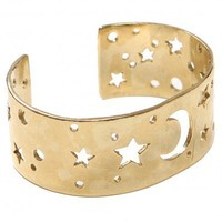 Night Constellation Cuff Bracelet - Bracelets - Jewelry | GYPSY WARRIOR