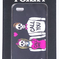 Toxxy Call Me iPhone Case Black
