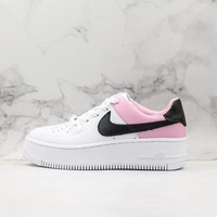 Nike Air Force 1 SAGE LOW LX White/ Pink/ Black Sneakers - Best Online Sale