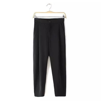 Style High Rise Casual Stylish Summer Pants [4919970052]