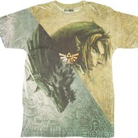 Nintendo Twilight Princess Game Legend of Zelda Wolf T-shirt