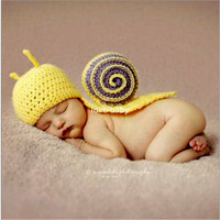 New Fashion Handmade Infant Baby Knit Costume Beanies Newborn Pography Prop Crochet Shirt Hat Cap Baby Accessories