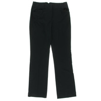 Adrianna Papell Womens Flat Front Straight Leg Dress Pants