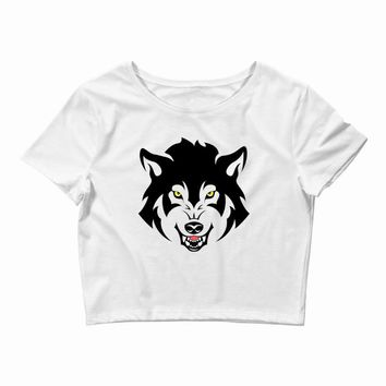 THE LAST WOLF Crop Top