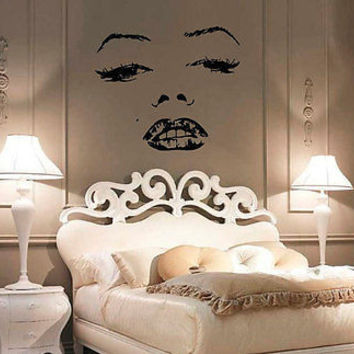 Monroe Wall Decal Marilyn Famous Signer Actress Wall Art Decor Sticker nm334