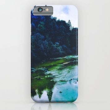 Blue Trees iPhone & iPod Case by DuckyB (Brandi)