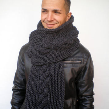 Best Men S Cable Knit Scarf Products On Wanelo
