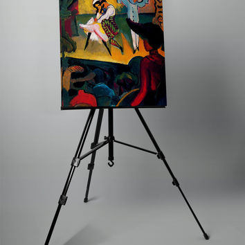 Russian Ballet by Macke on Mirror Wrapped Canvas