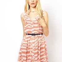 Yumi Striped Sailing Dress