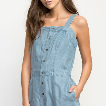 Accomplice Chambray Romper | RVCA