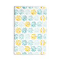 "Anchobee ""Coralina"" Teal Yellow Everything Notebook"