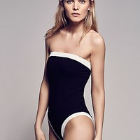 Free People Retro Swim Bodysuit