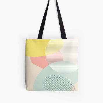 'Lost In Shapes III #redbubble #buyart' Tote Bag by designdn