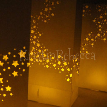 Star Luminaries 20 for Wedding Christmas Party Decor
