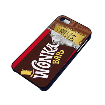 GOLDEN TICKET CHOCOLATE WONKA BAR iPhone 4 / 4S case