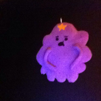 Lumpy Space princess. Polymer clay Charm necklace. Adventure time
