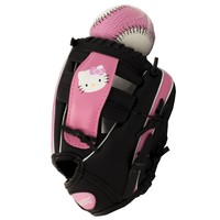 Hello Kitty 9.5 Baseball and Softball Glove with Training Ball