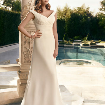 Casablanca Bridal 2181 Chiffon Wedding Dress
