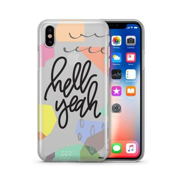 Hell Yeah - Clear Case Cover
