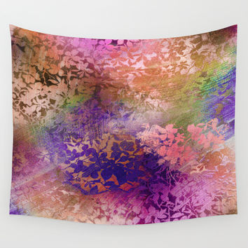 fall whirlwind Wall Tapestry by Ariadne