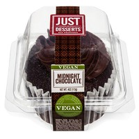Just Desserts Vegan Chocolate Cupcake - 4oz