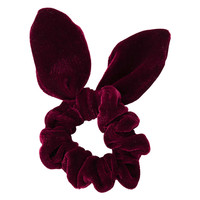 Velvet Bunny Ear Scrunchie - The Velvet Touch - New In - Topshop USA