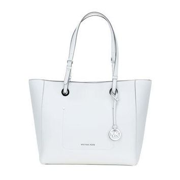 DCCKRQ5 MICHAEL KORS Walsh Optic White Borsa Donna Women's Bag S7.MK01