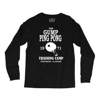 forrest gump   ping pong camp   cult film Long Sleeve Shirts
