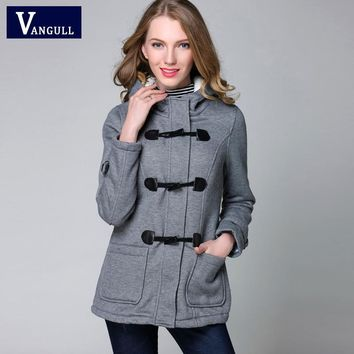 Winter Autumn Jacket Women Hooded Coat Fashion