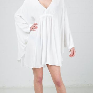 ANGL | Peasant Oversize Tunic Blouse