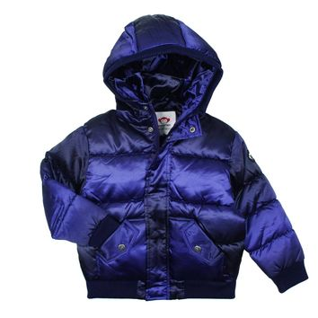 Appaman Unisex' Purple Wave Puffy Down Coat