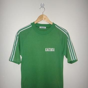 Vintage ADIDAS Shirt #7 Kaikuza Japan Old School Original 70s 80s Adidas Tee