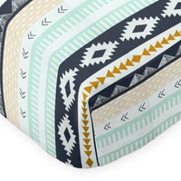 Crib Sheet | Aztec Arid Horizon Crib Baby Bedding Set