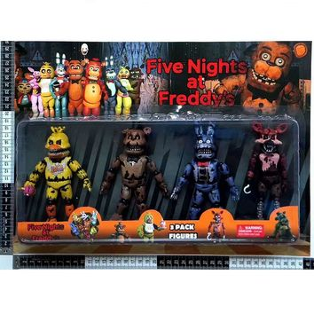 Horror Game  at  Toys Action Figure  Funtime Freddy Ballora Circus Baby's Pizza World Figurine Gift For Boys