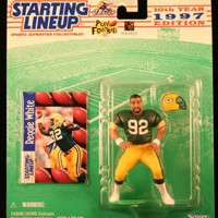 Reggie White Green Bay Packers 1997 Starting Lineup NFL action figure NIB Kenner