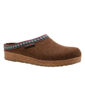 Haflinger Grizzly Classic - Chocolate Brown Clog