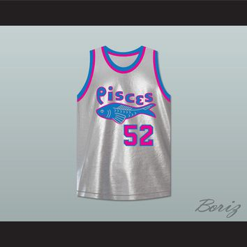 Bullet Haines 52 Pittsburgh Pisces Basketball Jersey The Fish That Saved Pittsburgh