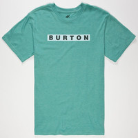 Burton Vault Mens T-Shirt Heather Green  In Sizes
