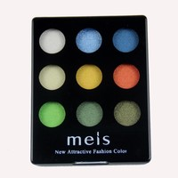 9 Colors Long-lasting Glitter Professional Eyeshadows Palette