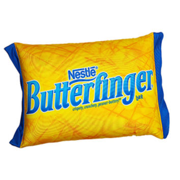 Butterfinger Squishy Candy Pillow
