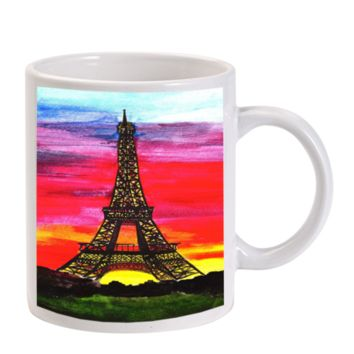 Gift Mugs | Eiffel Tower Paris Ceramic Coffee Mugs